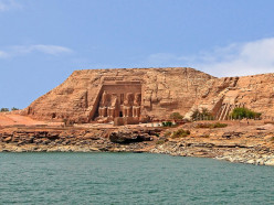 Abu Simbel Temples of Ramssese II and Nefertari in Egypt