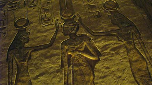 Crowning of Nefertari