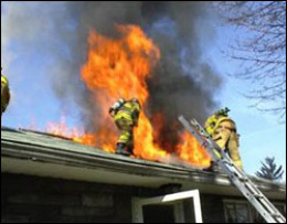 Sap build up can quickly ignite causing a house fire.