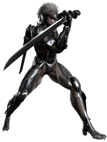 Raiden with his synthetic enhancements.