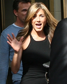 Jennifer Aniston is 46 years old.