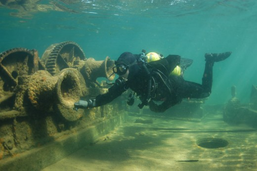 Wreck Diving Lake Superior