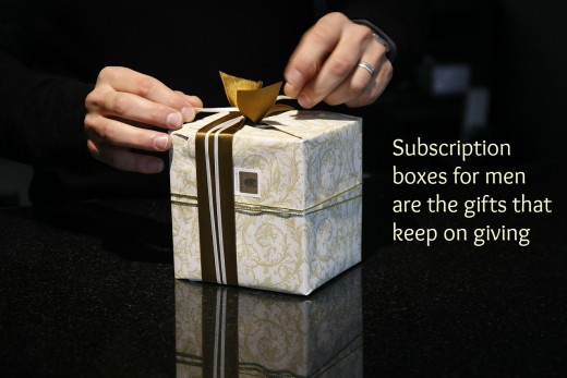Subscription Boxes for men