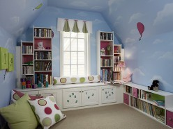 Wall Treatment Ideas For Kid Rooms