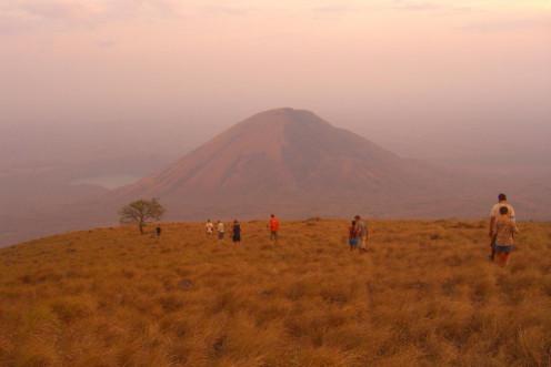 Nicaraguan dry season landcape