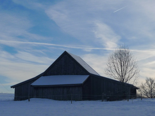 Consider bringing your animals into the barn, with a smaller pasture accessible for exercise.