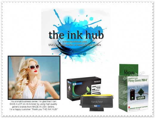 The Ink Hub is one of the most reputable ink & toner supplier in the USA selling remanufactured products. Visit www.theinkhub.com