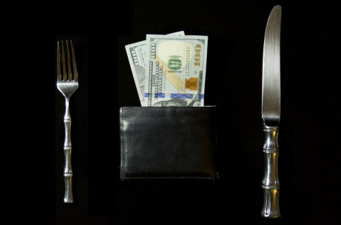 For the richest, spending hundreds of dollars on a meal is a trivial matter