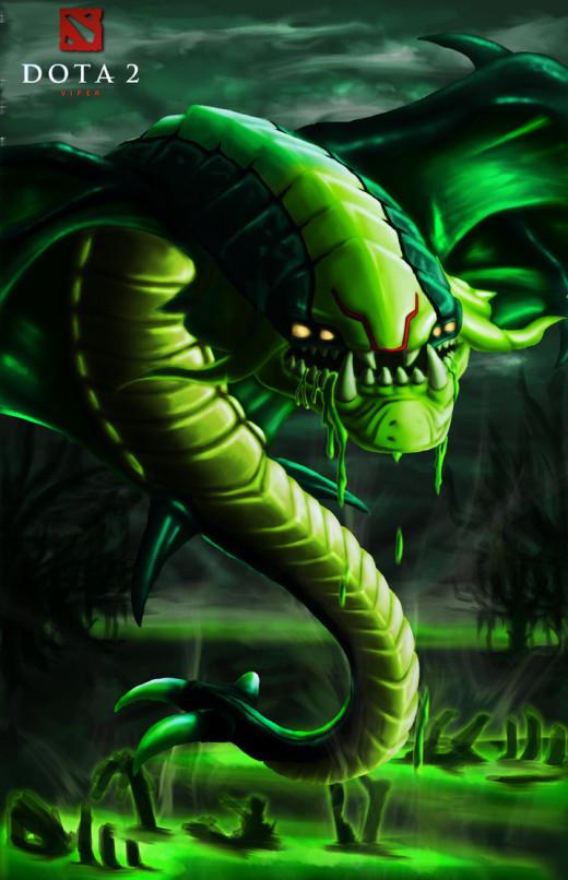 Viper, The Netherdrake in Dota 2