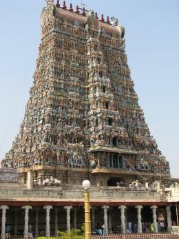 The Meenakshi Temple at Madurai Courtesy   http://pressengine.files.wordpress.com/2009/04/madurai_meenakshi_temple1.jpg