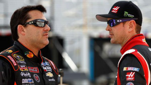 In addition to his own troubles, Stewart has Busch's legal woes on his plate