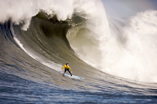 Surfers would venture out 1 day in a year for the perfect wave.