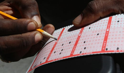 This lottery player knows picking exactly five numbers is the surest way to win Cash 5.