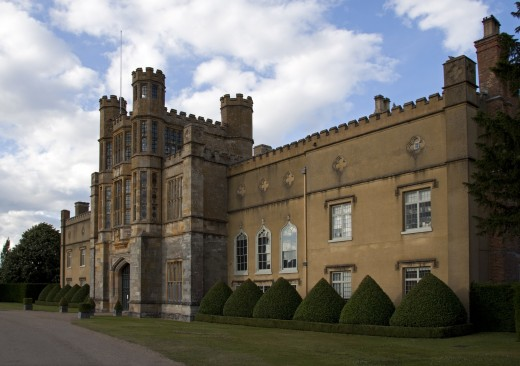 Example of an English 16th century mansion