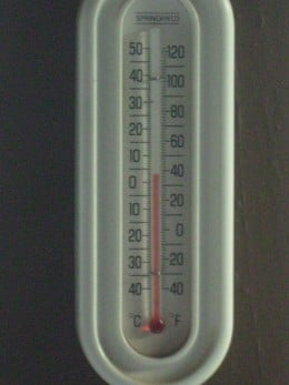 When the thermometer in Tucson, AZ shows 36 degrees it is COLD!