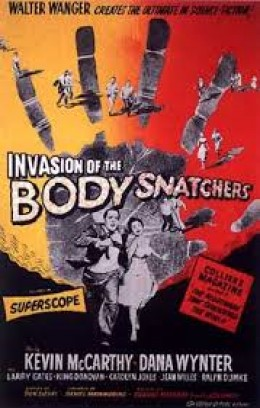 "Promotional image of original movie, ""Invasion of the Body Snatchers."""