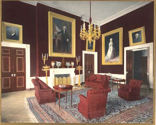 Theodore Roosevelt's Red Room