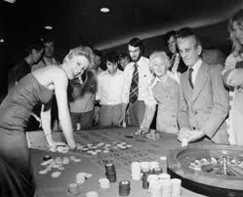 And an illegal gambling den