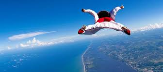If you want to see me have a melt-down, just tell me to go skydiving with you.