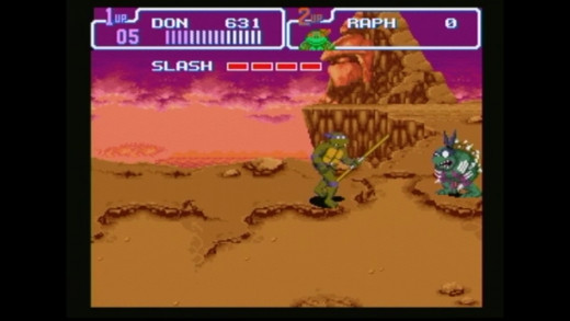 Slash is one tough boss at the end of the prehistoric turtlesarus