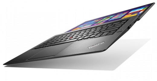 Yes, the Lenovo Carbon X1 also stretches out!