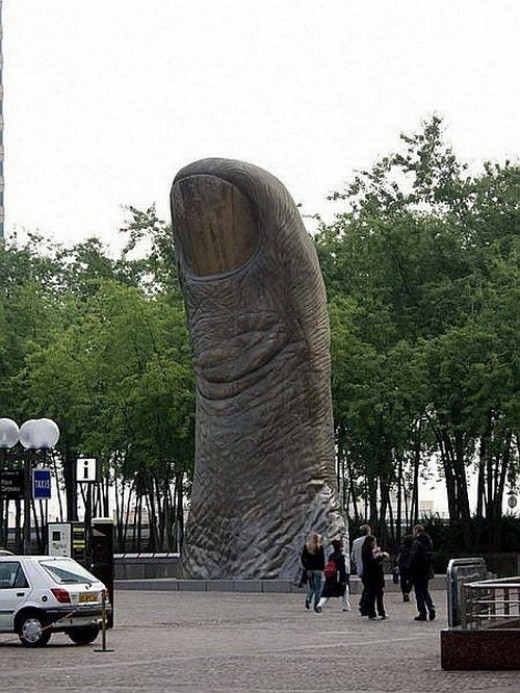 The Thumb(La Defence,Paris)