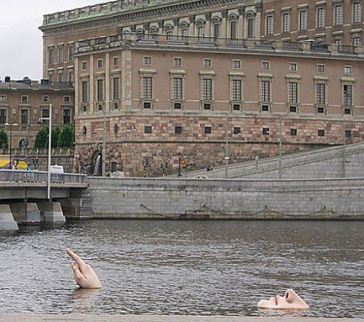 The swimmer(Stockholm,Sweden) .