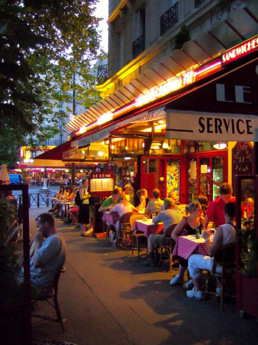 Any interest in visiting a cafe in Paris, France?