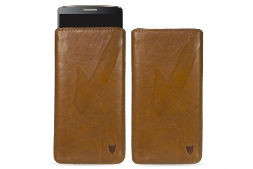 Mediadevil leather smartphone pouch