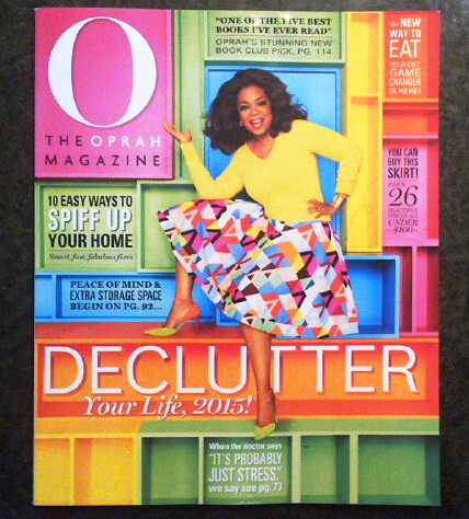 "'The Oprah Magazine"" March 2015"