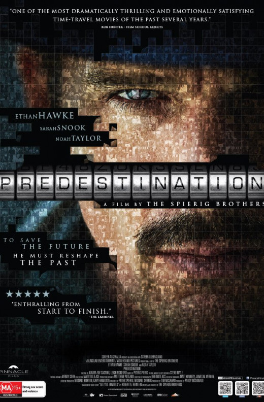 """Predestination"" is a sci-fi thriller about a time-traveling secret agent."