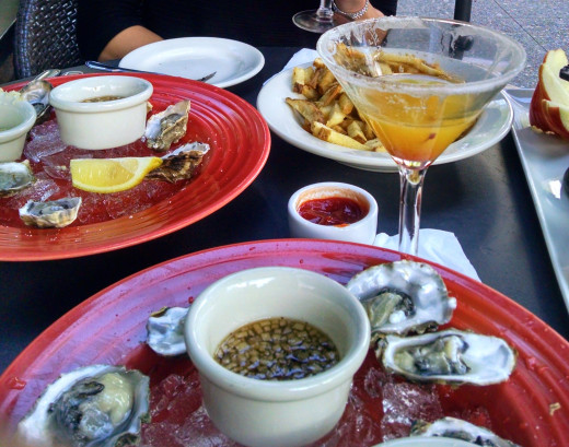 Cocktails and Oysters