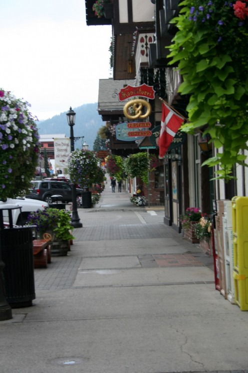 Side walks of Leavenworth