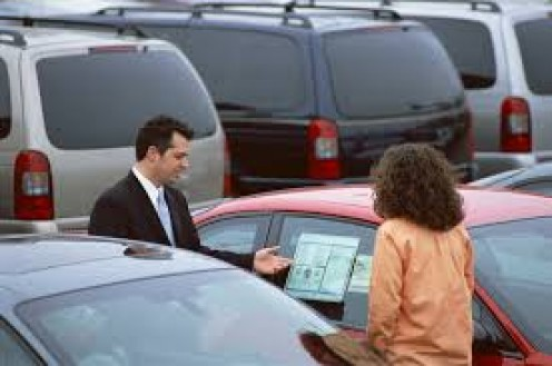 A good car salesman always shows the potential customer every detail of the sale