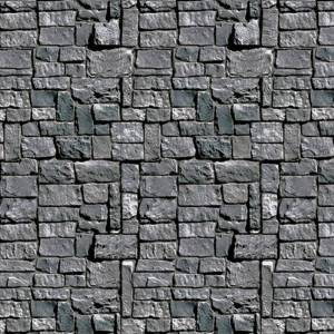 Stone Wall Backdrop Party Accessory