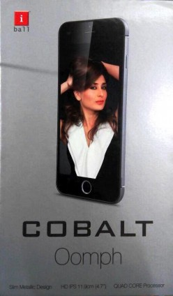 iBall Cobalt Oomph Review