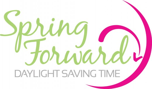 Daylight Savings Time  is a sure sign spring is coming