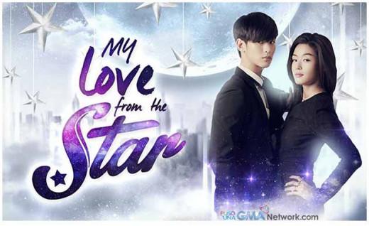 """My Love From the Stars""  a 2013 ""KDrama"" featuring Kim Soo Hyun and Jun Ji Hyun."