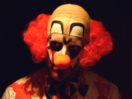 Clowns are feared by many people and do feature in nightmares.