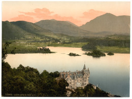 Loch Awe is said to harbour a terrifying mythical beast.