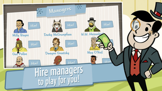 Adventure Capitalist Hire Managers