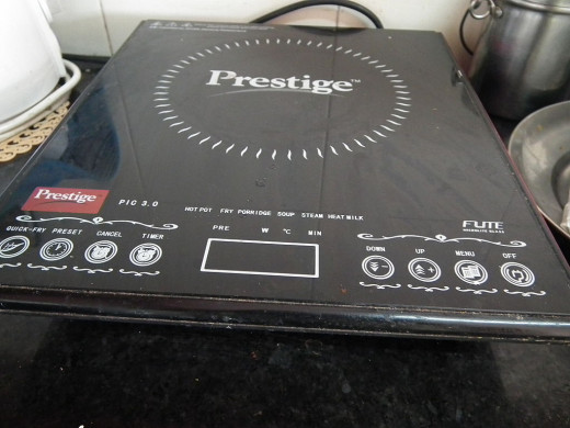 Modern induction cookers offer a range of controls for power, timing, type of cooking which help make them easier to use