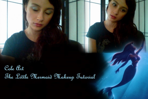 """The Little Mermaid"" Makeup Tutorial"