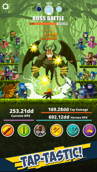 Tap Titans Boss Battle Tips Strategy Guide