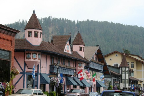 Charming little town of Leavenworth, Washington