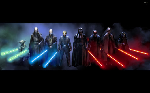 Star Wars Jedi and Sith