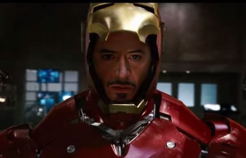 Screen Shot All Iron Man Transformations(Suit Ups & Downs) HD 1080p