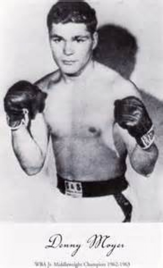 Denny Moyer was not great at any one aspect of boxing but he was good in all aspects of the sweet science.