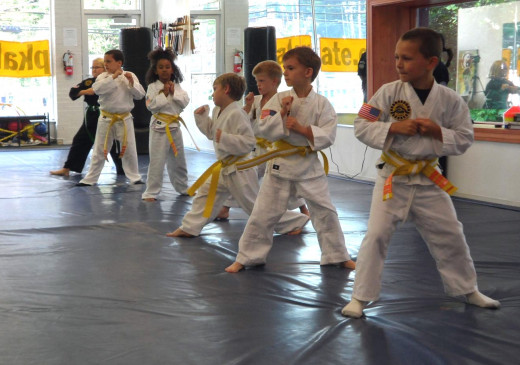 Martial arts can help kids become stronger both physically and mentally.