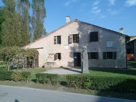 Verdi's birthplace, Le Roncole, Italy